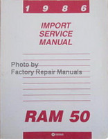 1986 Dodge Ram 50 Service Manual
