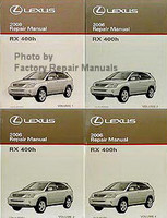 2006 Lexus RX400h Repair Manuals