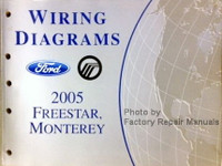 Wiring Diagrams 2005 Ford Freestar Mercury Monterey