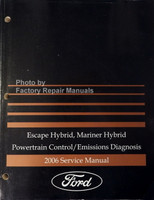 Escape Hybrid, Mariner Hybrid Powertrain Control/Emissions Diagnosis 2006 Service Manual
