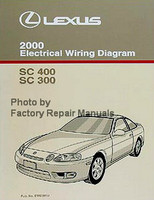Lexus 2000 Electrical Wiring Diagrams SC 400 SC 300