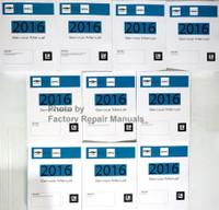 2016 Silverado, Sierra, Sierra Denali Service Manual Volume 1, 2, 3, 4, 5, 6, 7 & 8
