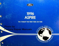 1996 Aspire Electrical and Vacuum Troubleshooting Manual Ford