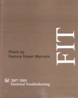 2007 2008 Honda Fit Electrical Troubleshooting Manual