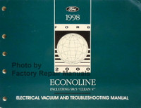 1998 Ford Econoline Electrical Vacuum and Troubleshooting Manual