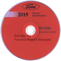 Ford 2015 Service Information Explorer