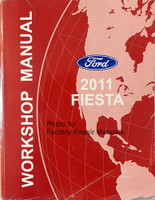 Ford 2011 Fiesta Workshop Manual