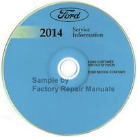 Ford 2014 Service Information Flex