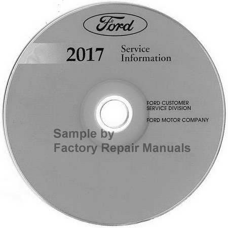 Ford 2017 Service Information Mustang