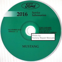 Ford 2016 Service Information Mustang