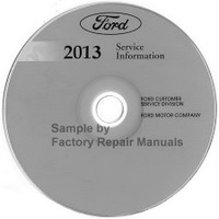 Ford 2013 Service Information Lincoln MKS
