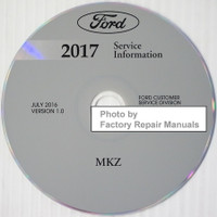 Ford 2017 Service Information Lincoln MKZ