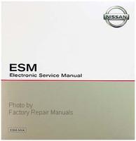 2017 Nissan NV200 Compact Cargo Van ESM Electronic Service Information