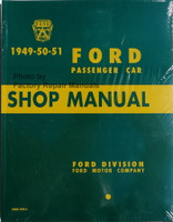 1949-50-51 Ford Passenger Car Shop Manual