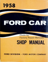 1958 Ford Car Shop Manual