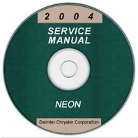 2004 Dodge Neon Service Manual CD