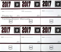 2017 GMC Acadia Service Manuals Complete Volume 1-6