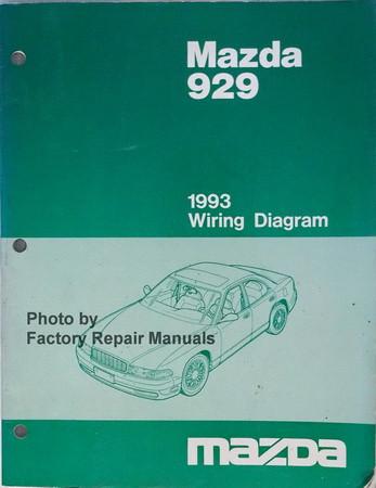 Pleasant 1993 Mazda 929 Electrical Wiring Diagrams Original Factory Repair Wiring Digital Resources Ntnesshebarightsorg