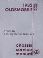 1982 Oldsmobile Chassis Service Manual
