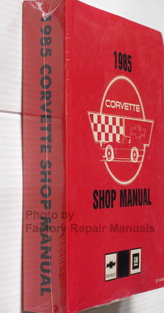 1985 Chevrolet Corvette Service Manual Reprint Spine View