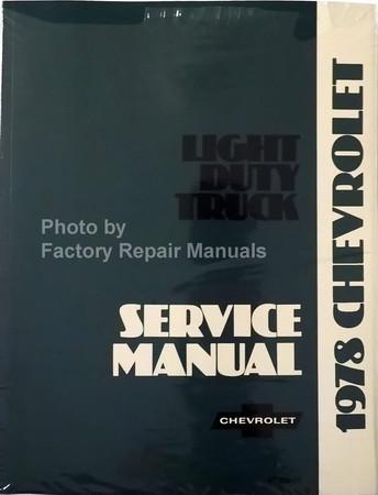 1978 Chevrolet Light Duty Truck Service Manual