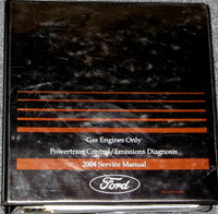 2004 Ford Lincoln Mercury Car and Truck Powertrain Control / Emissions Diagnosis Service Manual