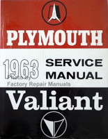 1963 Plymouth Service Manual Valiant