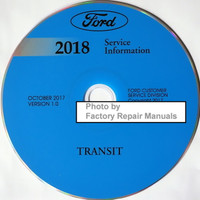 Ford 2018 Service Information Transit