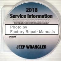 2018 Service Information Wrangler JK