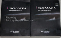 Sonata 2009 Shop Manual Hyundai Volume 1, 2