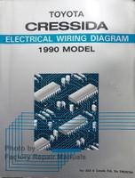 Toyota Cressida Electrical Wiring Diagram 1990 Model