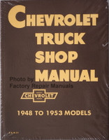 1948-1953 Chevrolet Truck Shop Manual