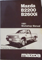 Mazda B2200 B2600i 1991 Workshop Manual