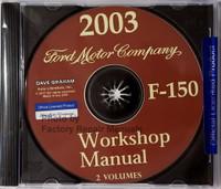 2003 Workshop Manual Ford F-150 Volume 1 & 2 on CD