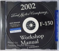 2002 Workshop Manual F-150 Volume 1 and 2 on CD