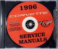 1996 Chevrolet Corvette Service Manuals Volume 1, 2 on CD