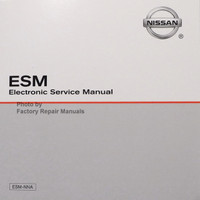 2004 Infiniti FX35 / FX45 Electronic Service Manual CD