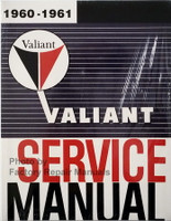 1960-1961 Plymouth Valiant Service Manual