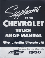 1956 Chevrolet Truck Shop Manual Supplement