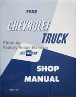 1958 Chevrolet Truck Shop Manual