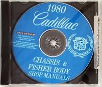 1980 Cadillac Service Manual and Fisher Body Repair Manual