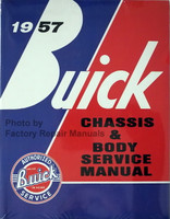 1957 Buick Chassis & Body Service Manual