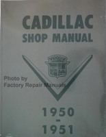 Cadillac Shop Manual 1950 1951