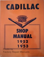 Cadillac Shop Manual 1952 1953