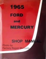 1965 Ford and Mercury Factory Shop Manual