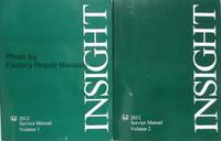 2012 Honda Insight Service Manual Volume 1, 2
