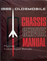 1965 Oldsmobile 98, Cutlass, Delta 88, Dynamic, F-85, Jetstar, Starfire, Super 88, Vista Cruiser Service Manual