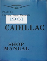 1961 Cadillac Shop Manual