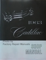 1963 Cadillac Shop Manual