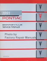 1991 Pontiac Bonneville Service Manual
